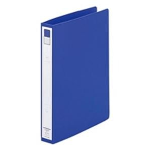 (業務用100セット) LIHITLAB リング式ファイル 【B5/2穴】 タテ型 背幅:36mm F-872U-8 青 生活用品 インテリア 雑貨 文具 オフィス用品 ファイル バインダー クリアケース クリアファイル 14067381 [並行輸入品] B07L7P3FRF