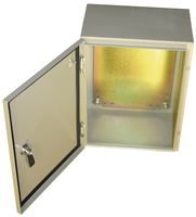Bud Industries Stainless Steel Box– SNB Series NEMA 4 Electronic Box, Hard Shell, Water Tight Hardware for Electrical Applications. Industrial Steel Enclosure
