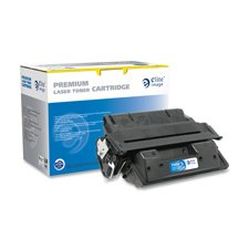 Laser Toner Cartridge, 6000 Page Yield, Black, Sold as 1 Each by Elite Image
