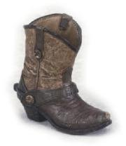 4.5 Inch Collectible Country and Western Boot Designed Pencil Cup