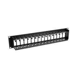 Muxlab 500901 Blank Filler Module f/ 500902 Rackmount Balun - Module Filler Blank