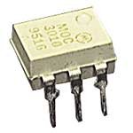 Major Brands MOC3010 Triac Optocoupler, AC Output, 1 Channel, 250VDRM, 6-Pin, PDIP, 4 mm H x 7 mm W x 7.62 mm L (Pack of 10)