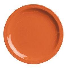 Syracuse China Cantina Dinnerware, Plate, Ceramic, Red, 7 1/4