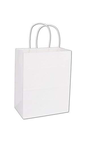 White Paper Shoppers Cub, 8 1/4 x 4 1/4 x 10 3/4