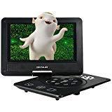 Docooler® 9 Inches Swivel Screen DVD/CD Player Portatil 16:9 TFT Screen Pixe 720 * 560 Support U Drive Play & Card Reader FM / TV / Game Function Black GKNUO GKN-900