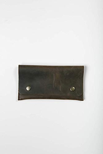 Amazon com: Cinnamon Leather Handmade Accessories Pouch, Coin Pouch