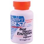 Doctor's Best Best Digestive Enzymes, Vegetable Capsules, 90-Count