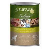 BY NATURE 392132 12-Pack Entree Pork Roulade with Bacon, Sw Potatoes and Apples Food for Pets, 13-Ounce, My Pet Supplies