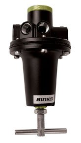 Binks 60CFM 5PORT AIR Regulator (BIN-HAR-511) by Binks