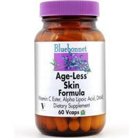 Age-Less Skin Formula, 60VC by Bluebonnet Nutrition (Pack of 1)