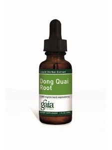 Dong Quai Root Extract Gaia Herbs 1 oz Liquid