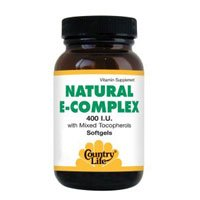 COUNTRY LIFE VITAMINS VITAMIN E COMPLEX,400 IU, 90 SGEL by Country Life