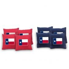 16 Ounce Sack - Texas Flag Cornhole Bags, 6