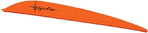 Bohning Impulse Vane (Pack of 100), Neon Orange, 3-Inch by Bohning by Bohning