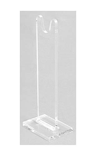 Easels by Amron Sword Stands for Antique and Vintage Swords for Displays and Shows. Sold AS Single Units for Mixing Sizes. (Usually Pick 2) Clear Acrylic. SWS-9 (9 inch)