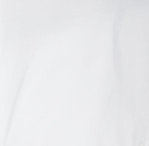 Fresh Ideas Tailored Poplin Bedskirt 14-Inch Drop Queen, White