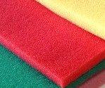Espuma poliuretano roja en plancha