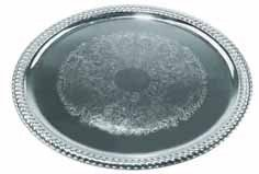 Winco Oval Tray, 18 by 13-Inch, -