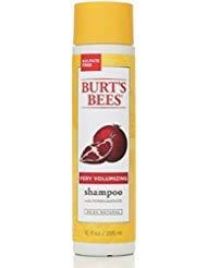 Burt's Bees Very Volumizing Shampoo Pomegranate 10 oz (Pack of 4)