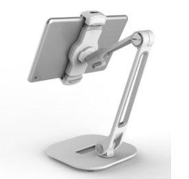 AboveTEK Aluminum Long Arm Tablet Stand