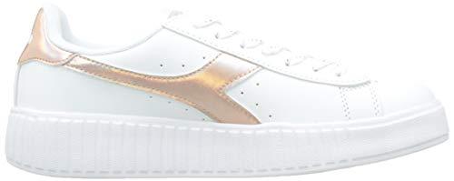 Per 20006 Step Shiny Sneakers bianco Game Donna Bianco Diadora AF7BqwWW