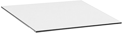 "Safco Products 3951 Drafting and Drawing Table Top, 48"" x 36"" for Table Base 3957, 3960 or 3961, sold separately, White"