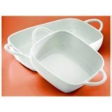 Pillivuyt Eden Lasagne Baker Rectangular, 14.75 x 9.75 Inches, 4.5 Quart Capacity