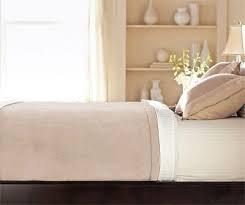 Sunbeam Microplush Heated Electric Blanket - Beige King