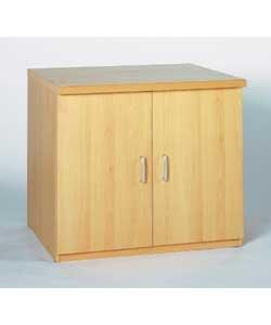 morgan beech 2 door cupboard office furniture uk only