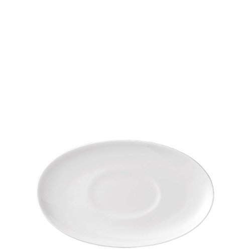 Plate, oval/Sauceboat stand, 9 1/2 inch | Jade (Rosenthal Oval Plates)