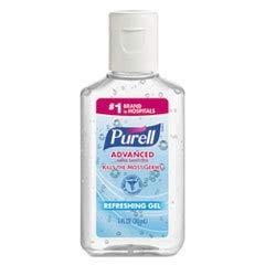 GO-JO INDUSTRIES Advanced Instant Hand Sanitizer Gel, 1 Oz Bottle, Lemon Scent, 250/case
