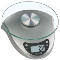 Taylor Precision Products Scale Kitchen Silver 6Lb 3831S ()
