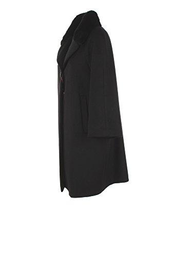 Cappotto Donna Max Mara 46 Nero Sabbia Autunno Inverno 2017/18