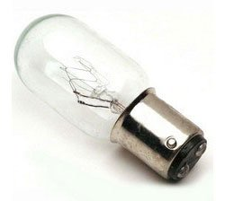 Push-in, 15W Clear Light Bulb 2PCW