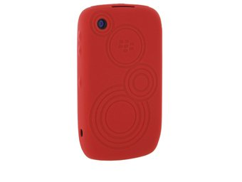 (OEM BlackBerry Red Silicone Skin Case (Blackberry Part # 33224LRP))