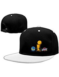 Golden State Warriors Vs Cleveland Cavaliers Contrast Color Hip Hop Baseball Hat