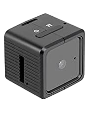 Spy Camera Mini Hidden Camera YEEHAO HD 1080P with Audio Motion Detection IR Night Vision Nanny Surveillance Camera for Home Indoor Outdoor Security Camera with Built-in Battery, 32GB Micro SD Card