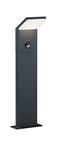 Trio Pearl - Poste exterior pequeño LED, 9,5 W, inPlafon, sensor