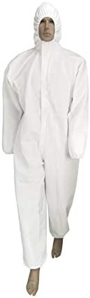 Disposable Isolation Coveralls - XL