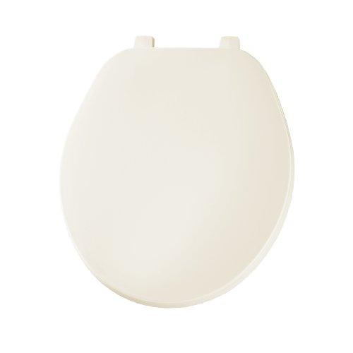 Bemis 70006 Economy Plastic Round Toilet Seat, Bone (Toilet Plastic Seat)