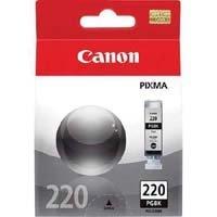 Canon 220 OEM Ink Tank: Pigment Black PGI-220BK