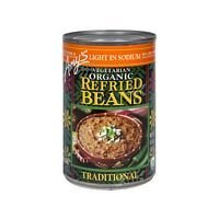 Amy'S Refried Traditional Beans Low Sodium 15.4 Oz (Pack of 12)