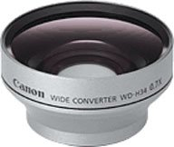 Canon WD-H34 Wide Angle Lens for the Optura 50/60 & Elura 80/85/90 Camcorders by Canon