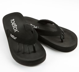 a1806f8d75b Image Unavailable. Image not available for. Colour  ToeSox Women s Yogini  Wedge Five Toe Sandals ...