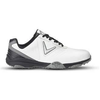 Callaway Chev Comfort Golf Shoes, Men, Black (Black/Silver), 47EU