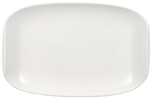 Relish Porcelain (Urban Nature Pickle Dish by Villeroy & Boch - Premium Porcelain - Made in Germany - Dishwasher and Microwave Safe - 8 x 5.25 Inches)