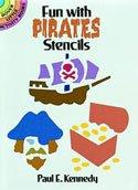 Dover Stencil Book Pirates -