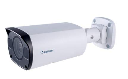 GEOVISION GV-TBL8710 8MP IR PoE Network Outdoor Bullet Camera with 2.8~12mm Lens RJ45 Connection
