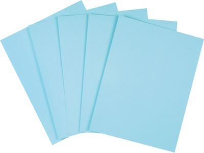 Staples Pastel Colored Copy Paper 8 1 2 X 11 Blue 500