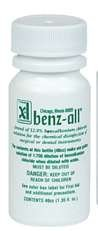 300BEN40 PT# 300BEN40- Disinfectant Instrument BZK Benz-All 40mL 15/Bx by, Xttrium Labs Inc
